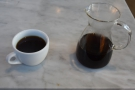... before I had the same coffee as pour-over through the V60.