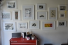 The pictures of vintage cars on the walls belie the other aspect of Fourtillfour...