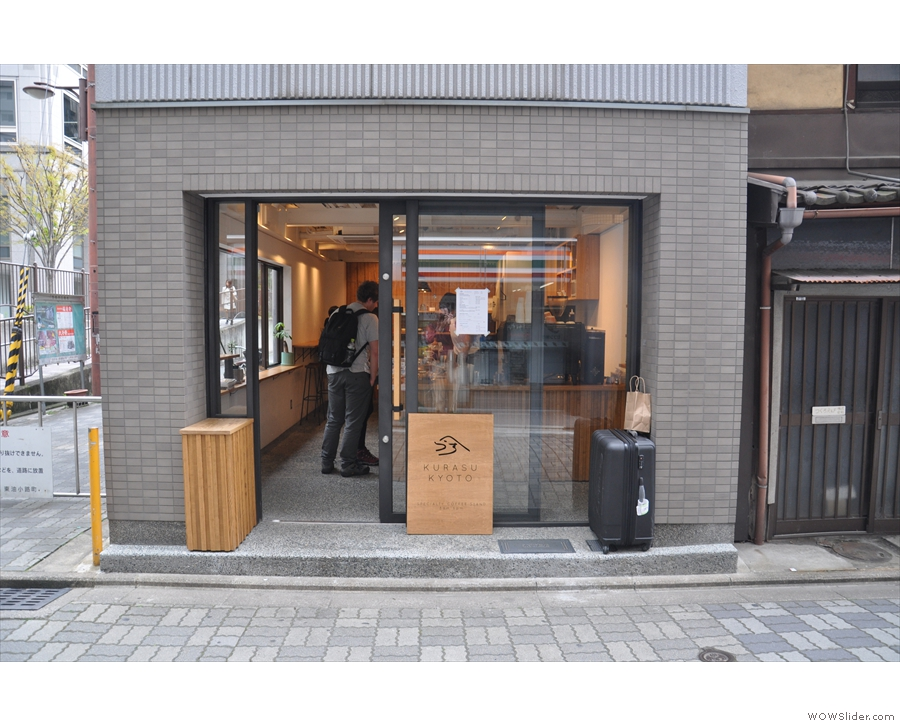 ... home to Kurasu speciality coffee stand.