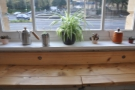 ... as well as various nick-nacks on the windowsills.