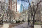 I hopped off at the first stop, Suburban, and made my way over to Rittenhouse Square.