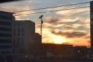 ... culminating in a fiery sunset at Washington DC Union Station.