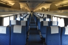 After the two sleepers, there's a solitary business class coach...