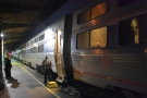 Whereas this is my sleeper coach, seen at the journey's end in New Orleans.