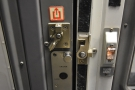 This has a latch system which enables it to be locked...