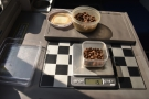 One of my table's many uses: coffee! During frequent stops, I used my scales to...