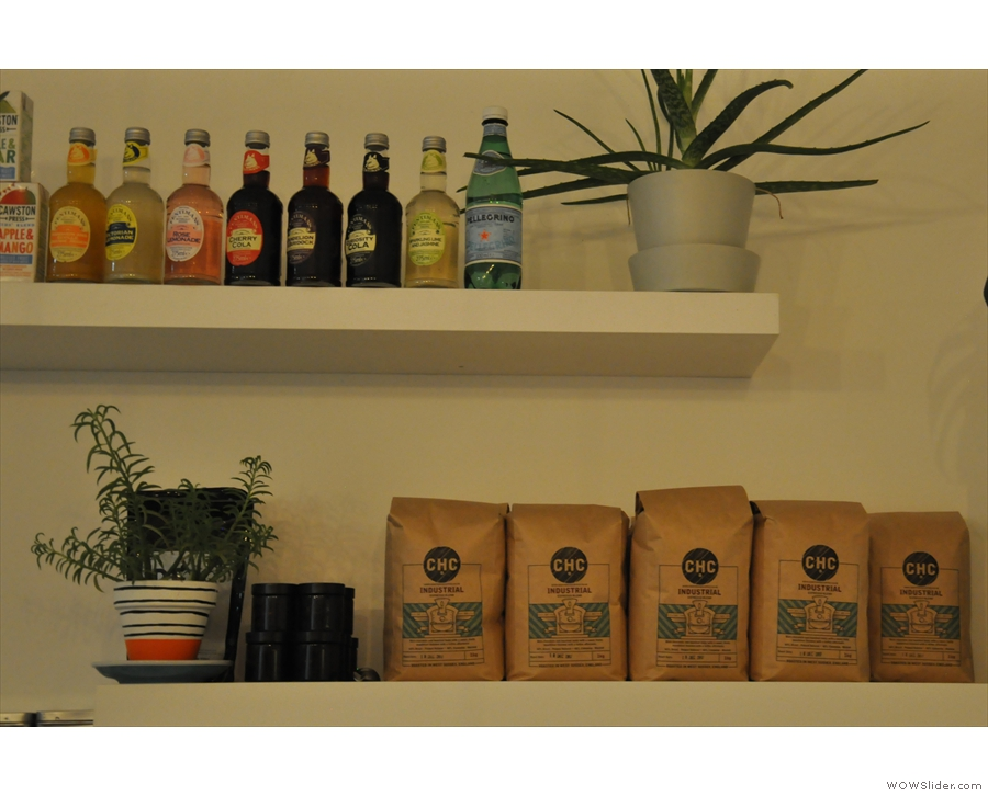 The house coffee is from Crafthouse Coffee...