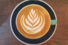 I'll leave you with the lovely latte art in my flat white.