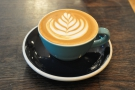 I had an excellent flat white with the house blend...