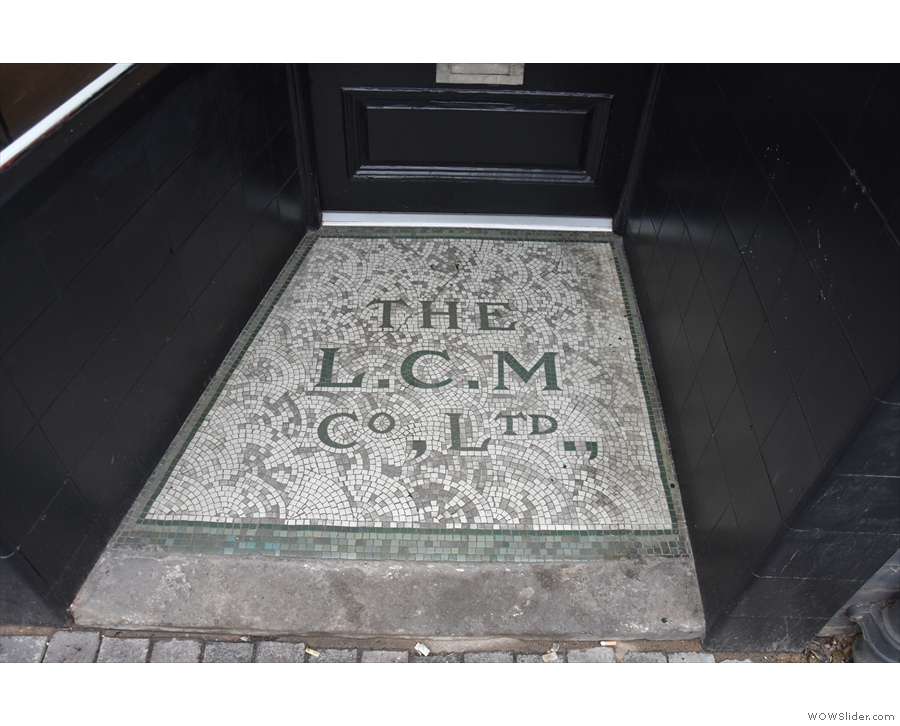 Nice tiles. I should have thought to ask who/what 'The L.C.M. Co. Ltd' was though.