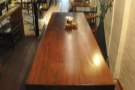 Another view of the communal table...