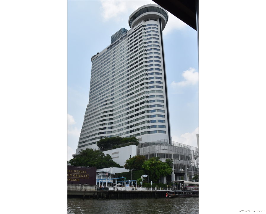 My home for most of my first week in Bangkok, the Millenium Hilton.