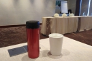 I also took my Travel Press and Therma Cup down to the meeting rooms with me.