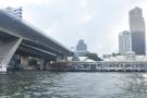 ... which is under the bridge...