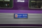 Carriage Number 5, Bangkok to Chiang Mai. All aboard!