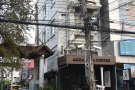 On a corner of Rachadammoen Road in the centre of Chiang Mai, stands this building...