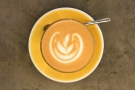 I'll leave you with the in-focus latte art :-)