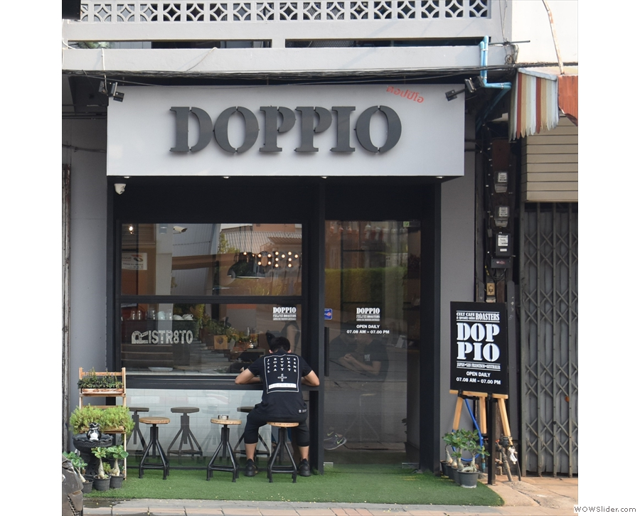 My first stop in Chiang Mai was an unplanned one as I walked past Doppio...
