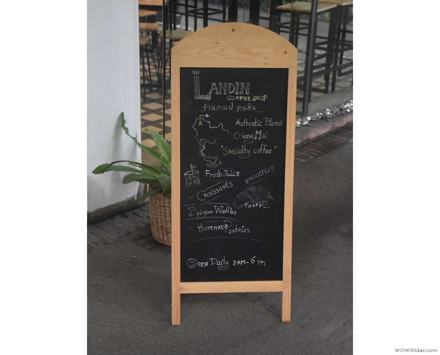 The A-board gives you the low down...