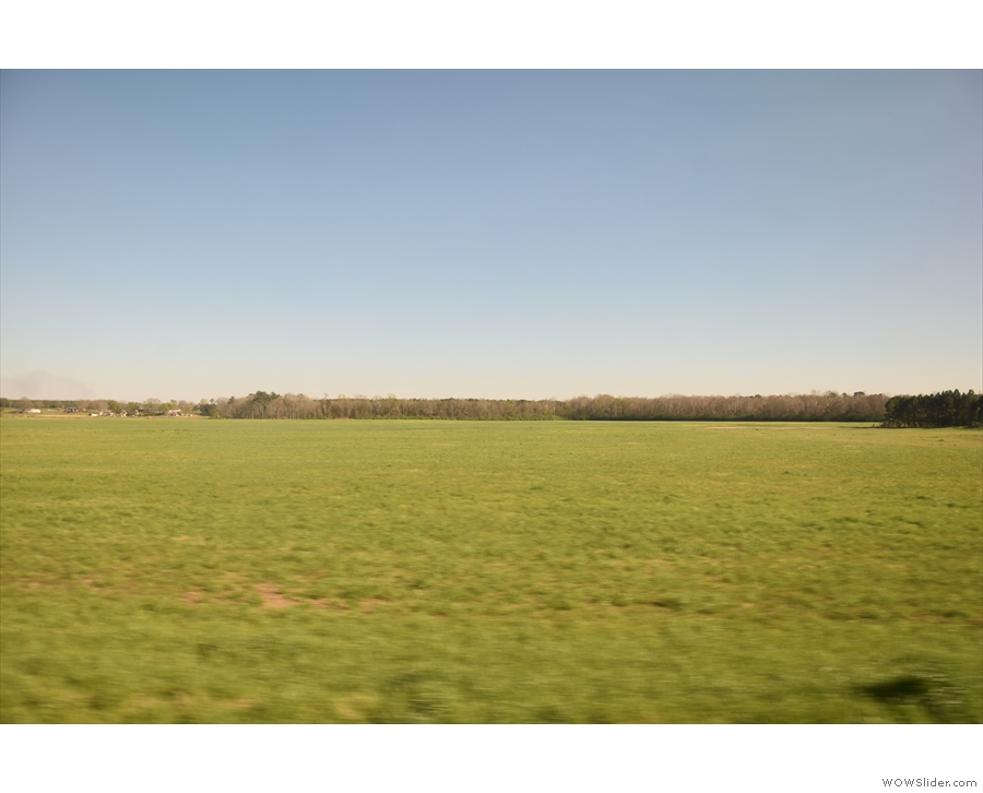... and open fields.