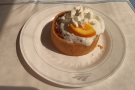 ... followed by Key Lime Pie for dessert, all included in the price of a sleeper ticket.