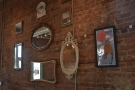 Cherry Espresso has several lovely features, including this exposed-brick wall...