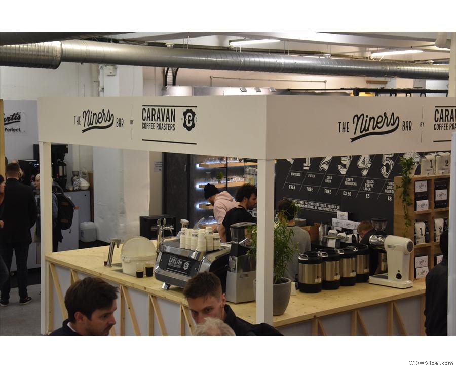 ... big names in London coffee, including roasters such as Caravan...