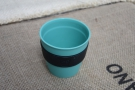 This is what you got for your £5 deposit: a standard, 8oz plastic KeepCup (no lid).