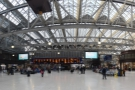 Welcome to Glasgow. The soaring glass roof of Glasgow Central is a wonderful sight...