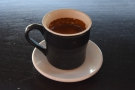 Finally, I returned on my last morning in Flagstaff for an espresso...