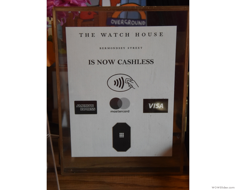 Note that if you are planning to buy anything, The Watch Tower is cash only.