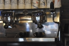 I was able to stand at the counter and indulge my passion for watching espresso extract.