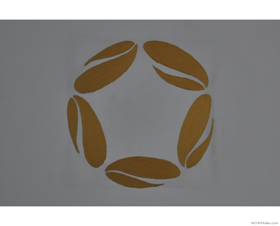 There's also the Vietnam Coffee Republic logo: five coffee beans in a circle.