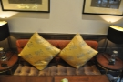 Nice cushions.