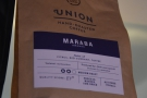 The Maraba single-origin from Rwanda, roasted by Union, is the house-espresso...
