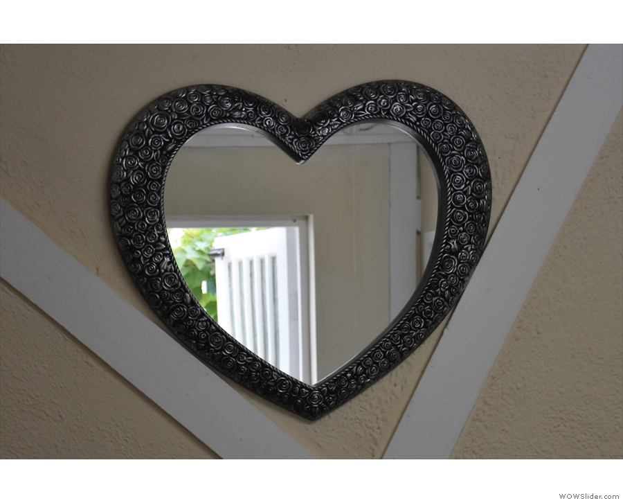 ... although this heart-shaped one in the front room is even better.