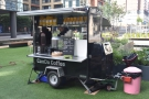 However, this is why we've come: the Can Do Coffee trailer.