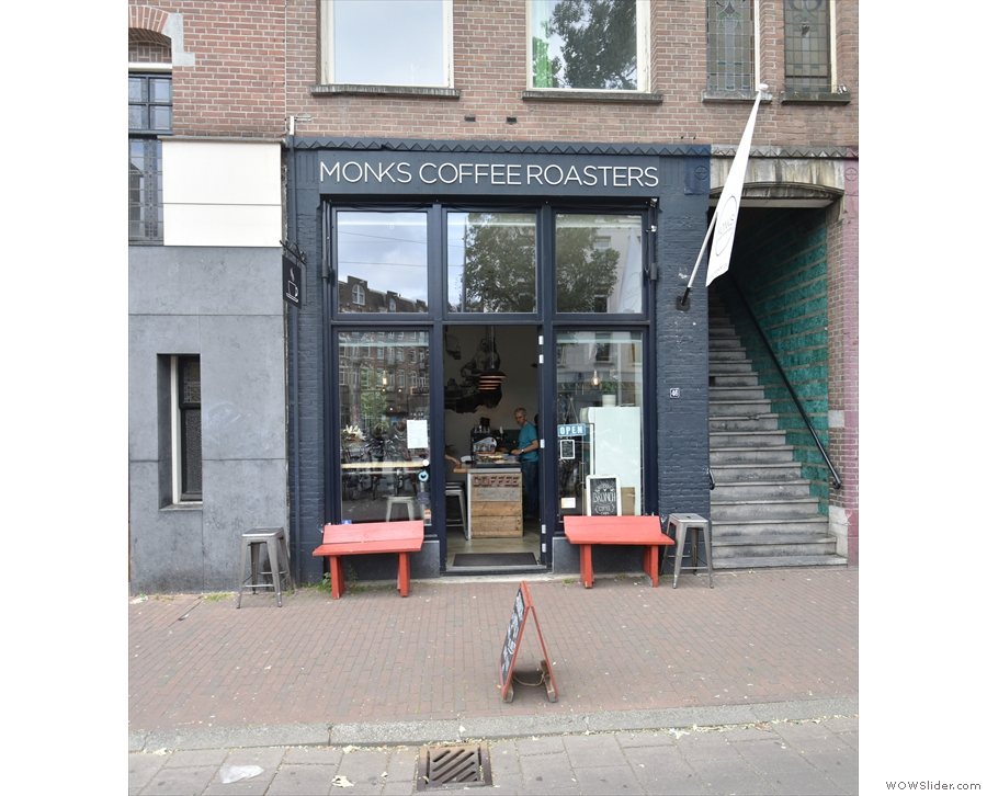 In western Amsterdam, on Bilderdijkstraat, stands a modest store front...