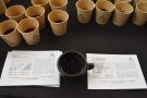 My Kaffeeform cup and I sampled a pair of washed single-origins, a Kenyan & Colombian.