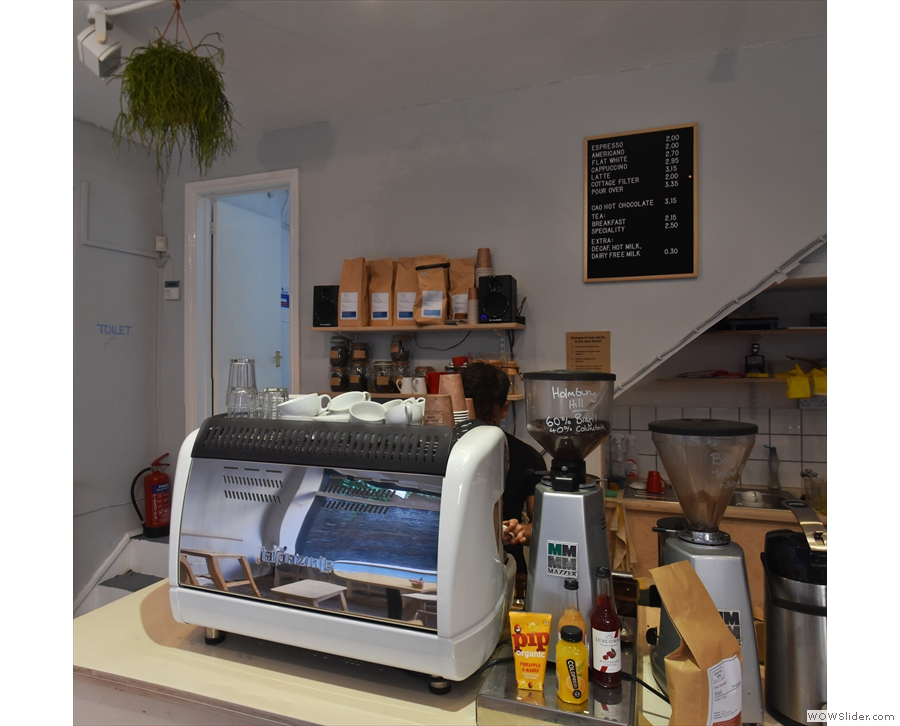 Surrey Hills is just settling in, but there'll be the usual array of coffee on offer.