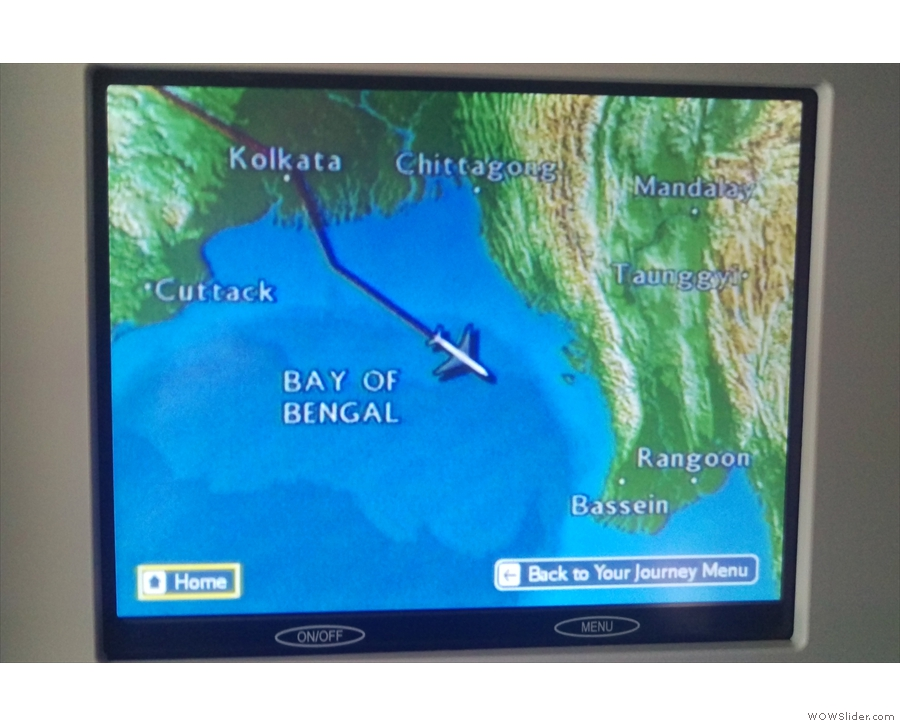 By now we were well on our way across the Bay of Bengal and heading for Myanmar.