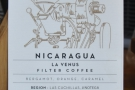 ... while this Nicaraguan was on pour-over.