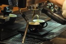 I love watching espresso extract.