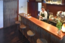 ... then the counter proper, complete with four bar stools.