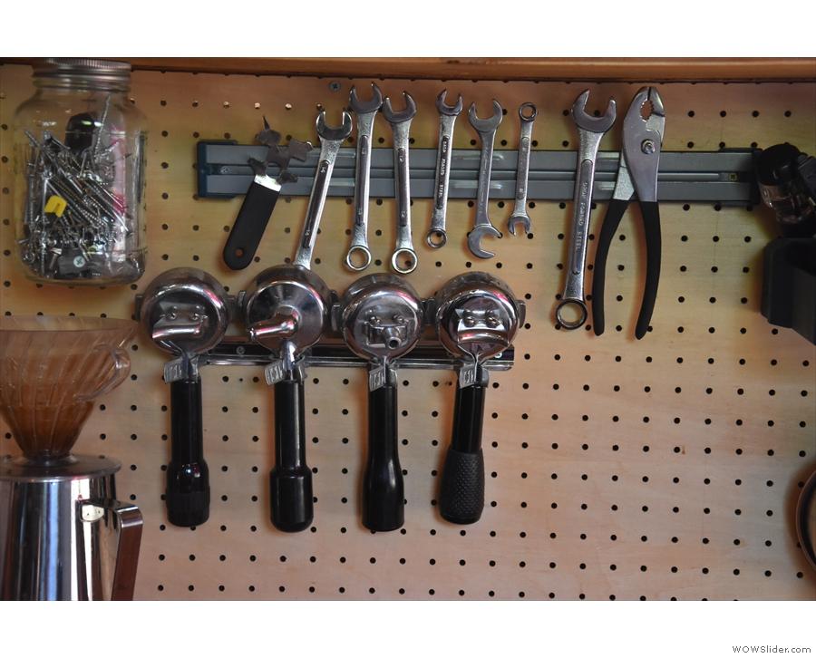 Nice espresso tool kit.
