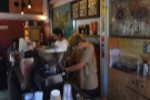 The view back along the counter.