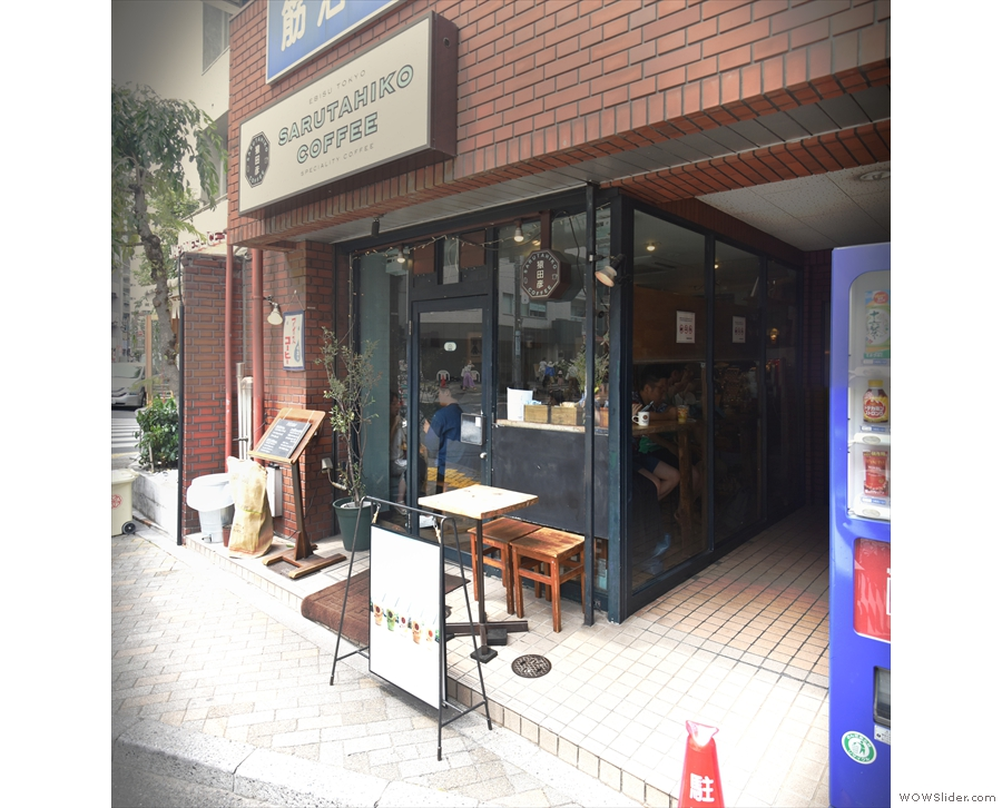 ... is Sarutahiko Coffee, tucked away in this small corner shop.