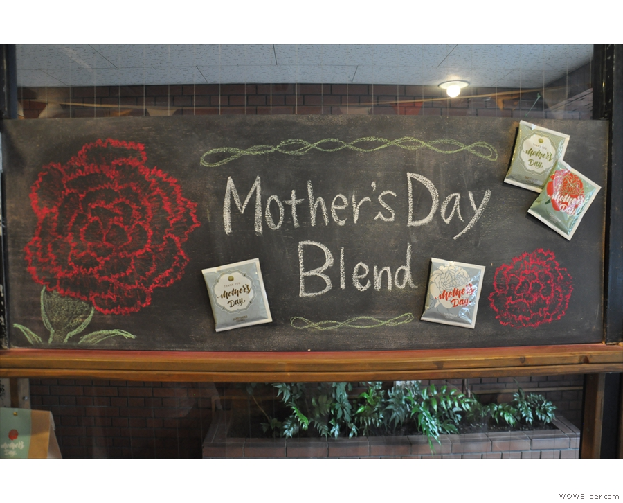 There was even a special Mother's Day Blend back in April 2017.