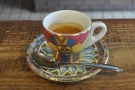... the single-origin espresso, seen here in the most gorgeous espresso cup.