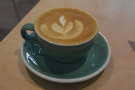 I combined the two with a 6oz with milk (flat white to you and me).